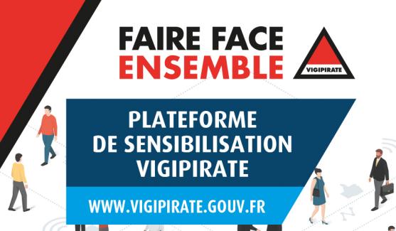 Consultez la plaquette d'information Vigipirate éditée par le Secrétariat Général de la Défense et de la Sécurité Nationale.