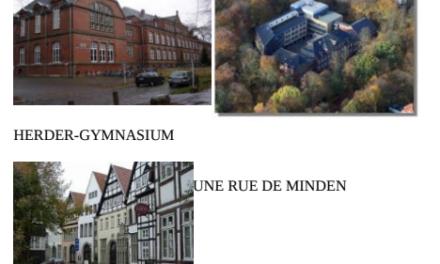 Echange linguistique avec un établissement allemand