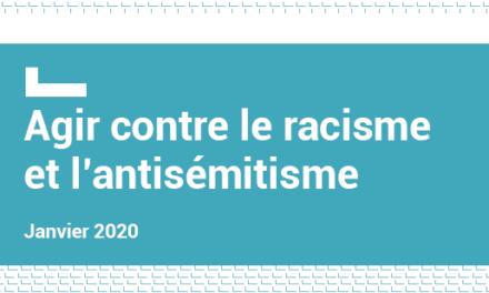 Agir contre le racisme et l'antisémitisme : Publication d'un vademecum