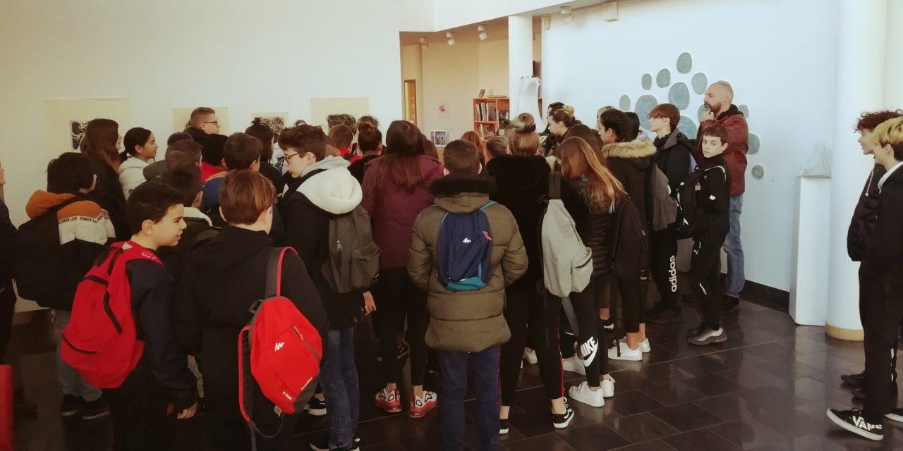 5e 1/2/5 : Sortie scolaire cinématographique à la médiathèque du Cannet