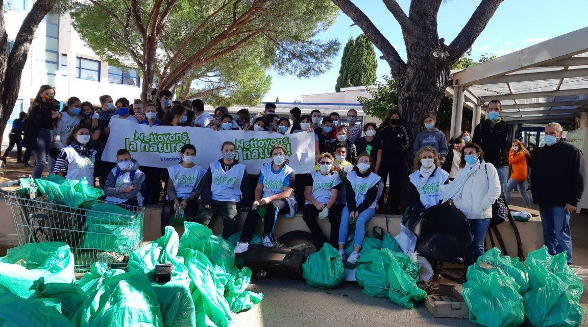 """Opération """" Nettoyons la nature """" : les élèves de SEGPA en première ligne"""
