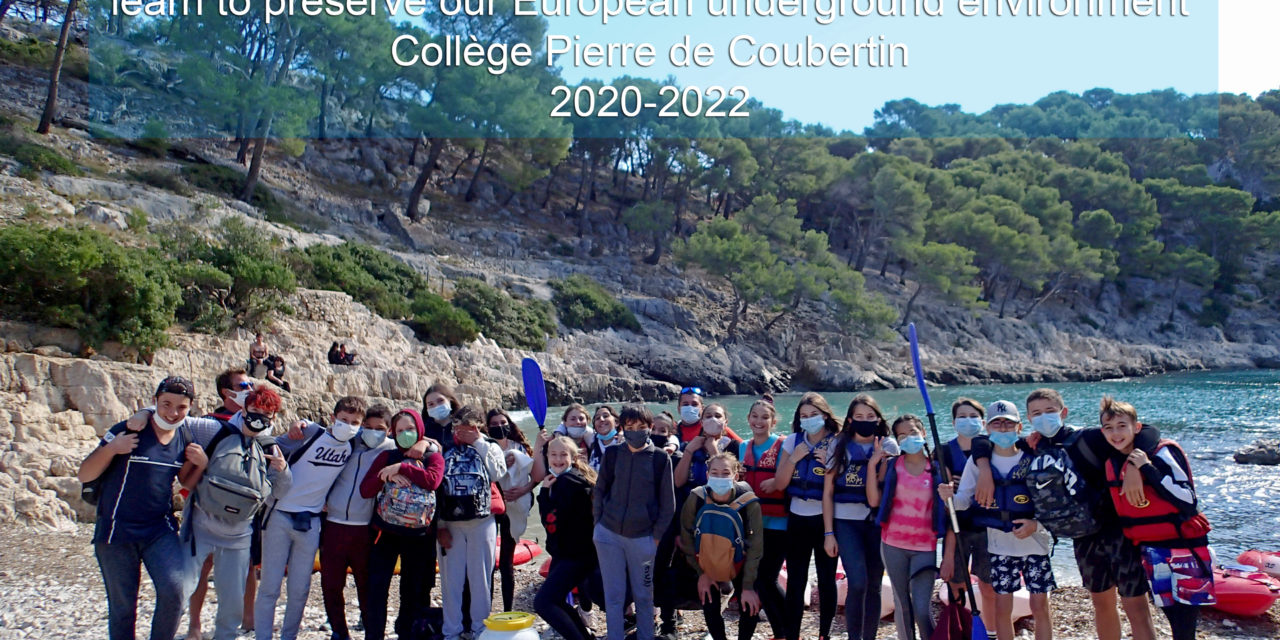 Groudwater : première action de terrain pour les élèves du projet européen